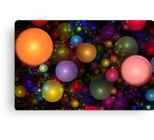 Billions of Bubbles Canvas Print