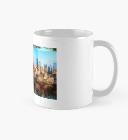 Superman saves the day Mug