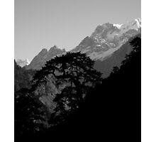 View of Mustang Region- Annapurna Trek Photographic Print