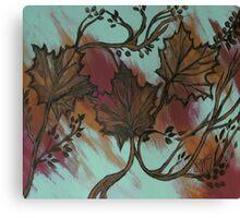 Acrylic Autumn Canvas Print