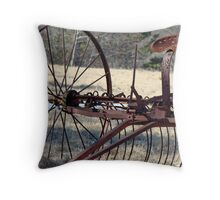 The Bones of Yesterday Throw Pillow