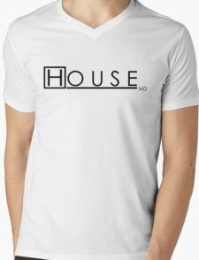 House MD  Mens V-Neck T-Shirt