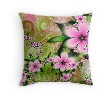"""""""Royal Garden Sphere # 12 Throw Pillow"""