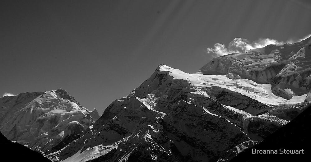 """Yeti Zone""-Himalayas by Breanna Stewart"