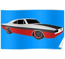 Dodge Charger 1969 Poster