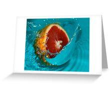 Grapefruit #1 Greeting Card