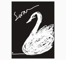 Black Swan  Baby Tee
