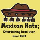 Retro Style Fun Tees; Mexican Hat by Dead as a Dodo Limited