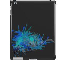 Merlin, Ocean Blue-Pale Lines iPad Case/Skin