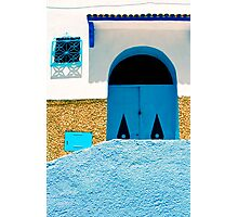 A Wall:  In Three Parts Photographic Print
