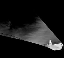 Calatrava Bridge Shadows by ragman