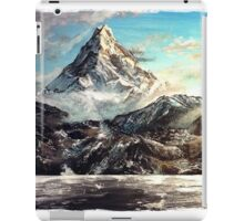 The Lonely Mountain Painting iPad Case/Skin