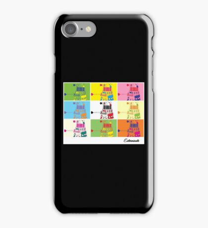 Dalek Warhol iPhone Case/Skin
