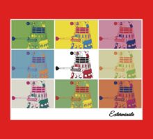Dalek Warhol One Piece - Short Sleeve