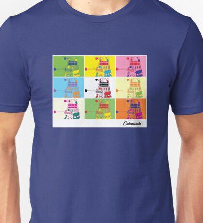 Dalek Warhol Unisex T-Shirt