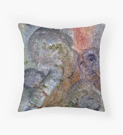 The Creation of Destruction Throw Pillow