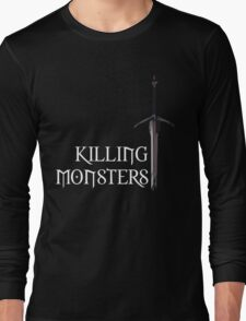 The Witcher | Killing Monsters Long Sleeve T-Shirt