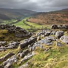 Hubberholme From Buckden Out Moor by SteveMG