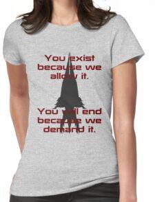 Mass Effect   Reaper Womens Fitted T-Shirt