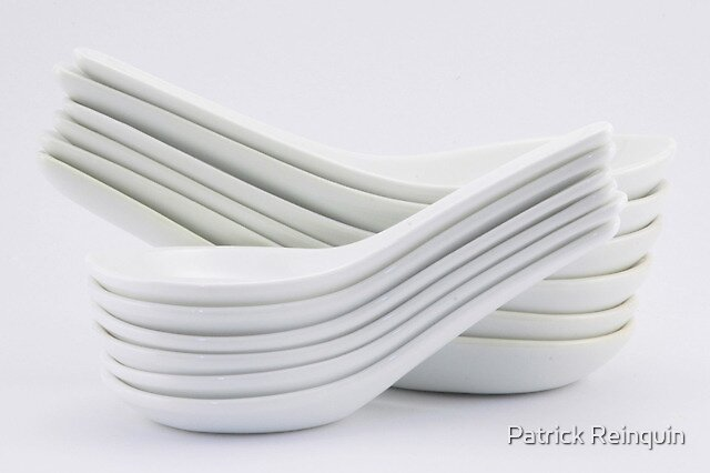 Simply white by Patrick Reinquin