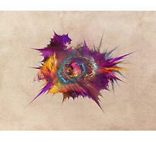 Star fractal art Photographic Print