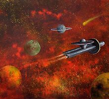 Unidentified Flying Object by Randy  Burns