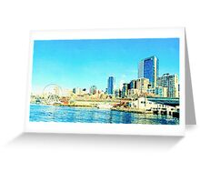 Seattle, Washington Greeting Card