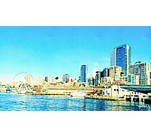 Seattle, Washington Photographic Print
