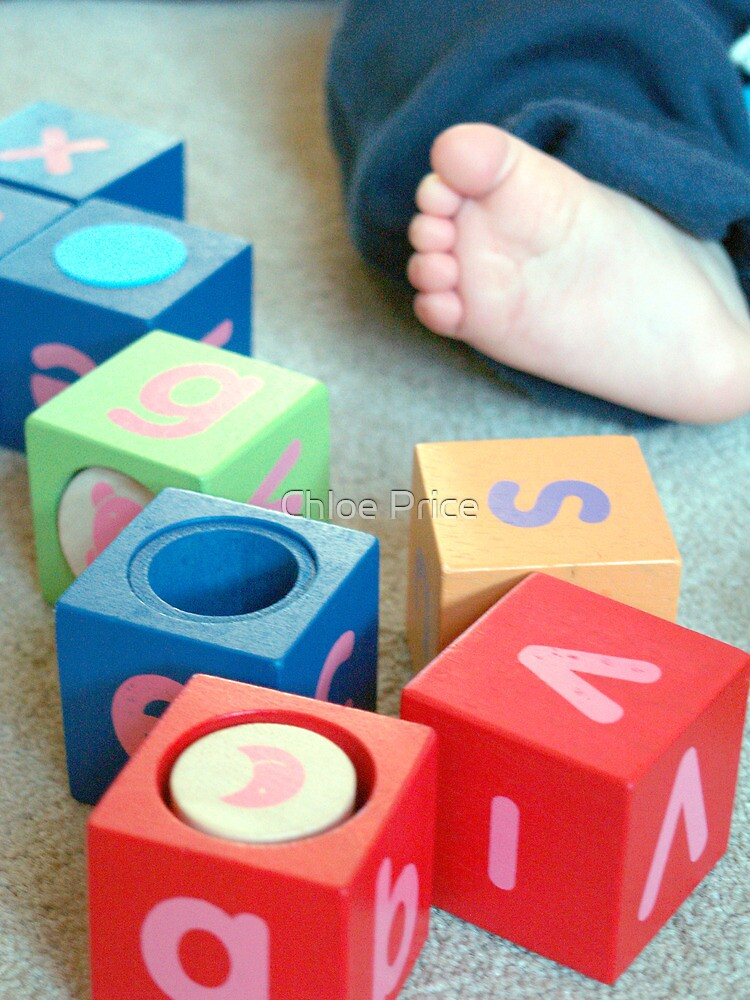 Baby bricks by Chloe Price