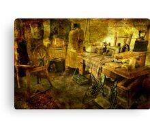 A Stitch in Time...a Long Time Ago Canvas Print