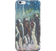 The Hoops Charge Home - Country Racing Vic. Australia iPhone Case/Skin