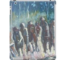 The Hoops Charge Home - Country Racing Vic. Australia iPad Case/Skin