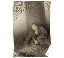 Theodor Kittelsen Krambugutten med gammelostlasten The Shopboy and His Cheese Asbjørnsen and Moe Norske Folkeeventyr Poster