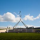 Parliament House Canberra by rudolfh