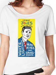 George Jones Pop Folk Art Women's Relaxed Fit T-Shirt