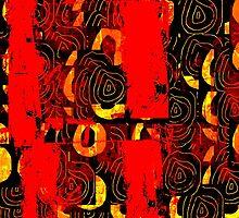 Three Totems by Richard  Tuvey