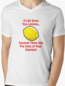 Lemon Life....We all suffer at some point Mens V-Neck T-Shirt