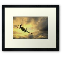 Back to Base Framed Print