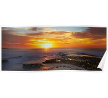 Sunrise- Maroubra Beach Poster