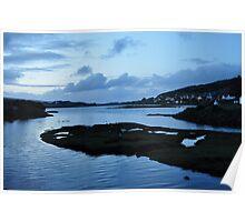 Loch Dunvegan at Twilight Poster