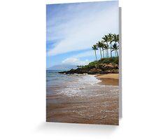 Makena Beach, Maui Greeting Card