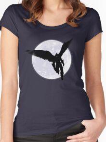 Moon Devil Jin Women's Fitted Scoop T-Shirt