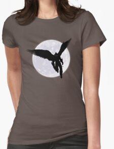 Moon Devil Jin Womens Fitted T-Shirt