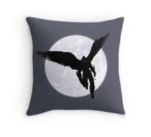 Moon Devil Jin Throw Pillow