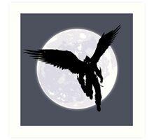 Moon Devil Jin Art Print