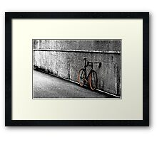 Urban Bike Framed Print