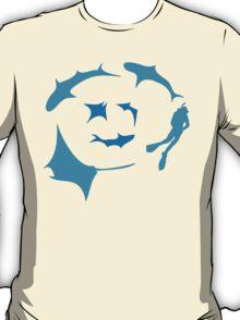 'Circling' - T-shirt for dive gods :) T-Shirt