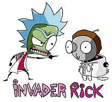 Invader Rick by JamesCMarshall