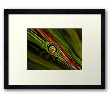 Calming The Wicked Framed Print