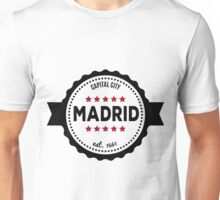 Madrid capital city  Unisex T-Shirt